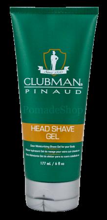 Pinaud Clubman Head Shave Gel