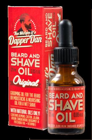 Dapper Dan Beard and Shave Oil