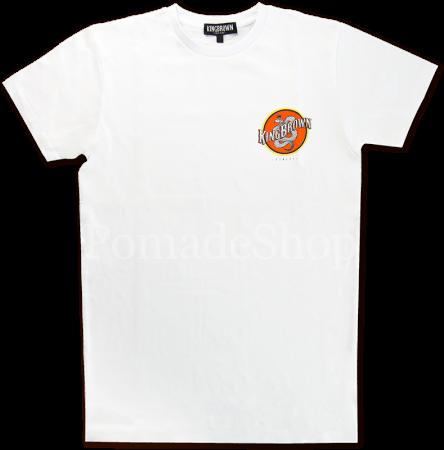 King Brown T-Shirt Insignia weiss