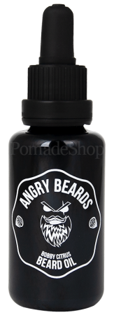 Angry Beards Beard Oil Bobby Citrus