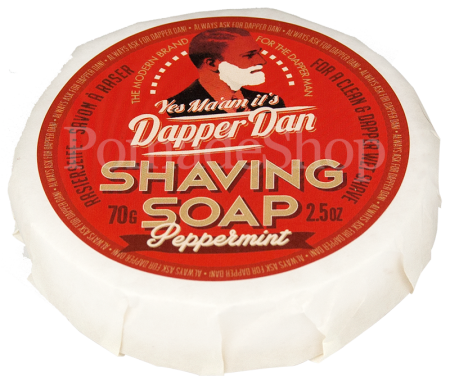 Dapper Dan Shaving Soap Peppermint