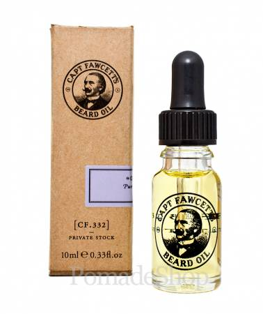 Captain Fawcett's 'Private Stock' Beard Oil SMALL
